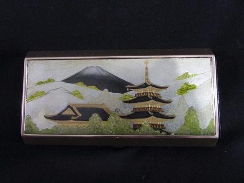 Caixa De Maquiagem Com Temática Oriental