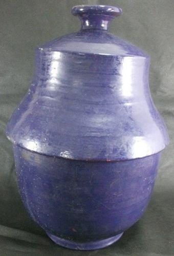 Potiche Oriental Em Cerâmica