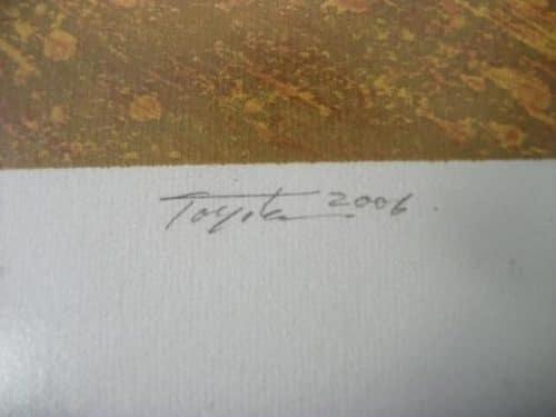 Curiosa Serigrafia Toyota 1