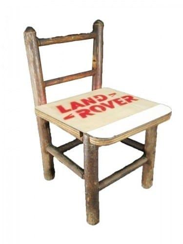 Cadeira Infantil Em Madeira Com Intervenção
