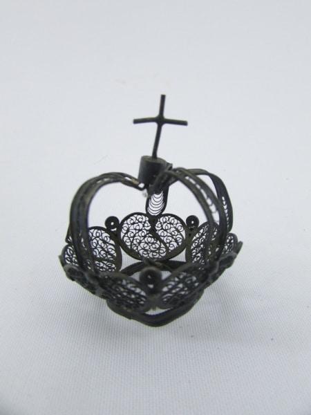 Arte Sacra – Coroa De Santo Em Prata