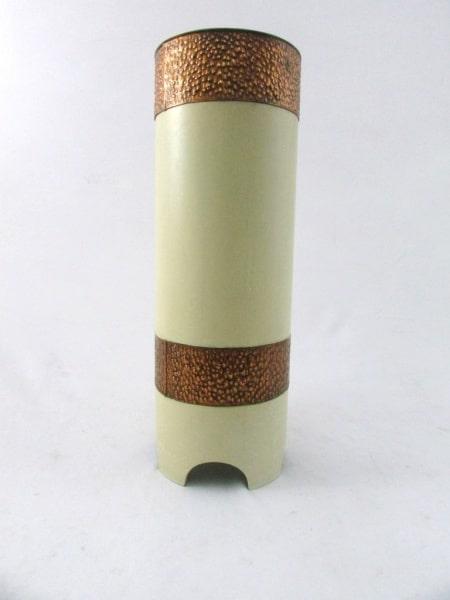 Porta Guarda-chuvas Em Material Sintético Decorado Por Cobre