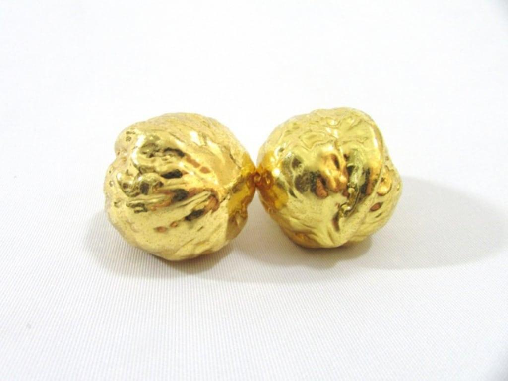 Nozes Folheadas A Ouro